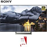 Sony 65-inch 4K HDR Ultra HD Smart LED TV 2017 Model (XBR-65X900E) with Netflix $30 Gift Card