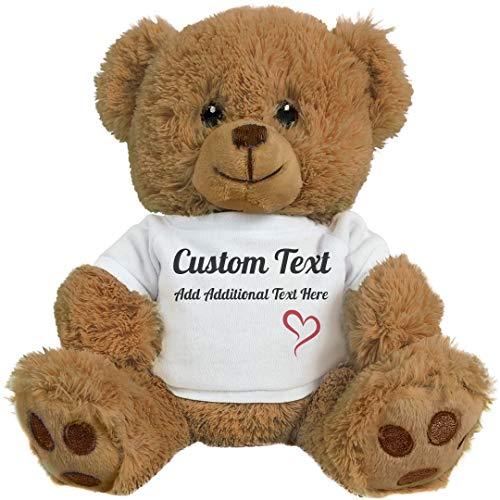 Cute Custom Teddy Bear Gift: 8 Inch Teddy Bear Stuffed Animal