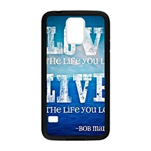 SKCASE Cover Case for Samsung Galaxy S6 Bob Marley Quotes - Love the life you live, live the life you love