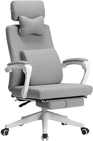 LAZ Chaise de Bureau Chaise d'ordinateur Tissu Maison d