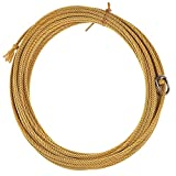 King Saddlery Inc Quad Poly Gold 4 Strand Ranch Rope