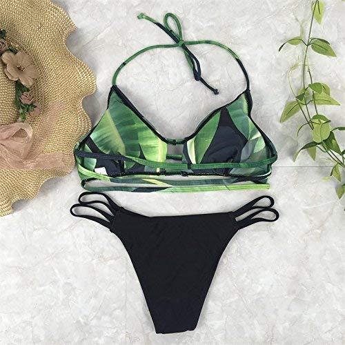 Maillot Oudan De Bain La À Bikini coloré Mode Taille M L qAA1wrd5