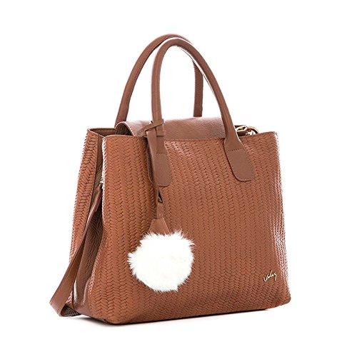 de Honey Cuero Handbag Carteras Leather para 1021487 Colombian Purse Genuine Mujer Velez Women CSWq44