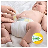 Pampers Premium Protection Nappies New Baby Jumbo Pack - Size 1, Pack of 72 Bild 4
