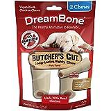 DreamBone Butcher's Cut Dog Chew, Rawhide Free, Large, 2-Count