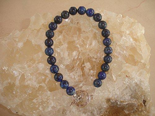 Lapis Lazuli Bracelet Connected to Michael Angel Communication Crystal Healing