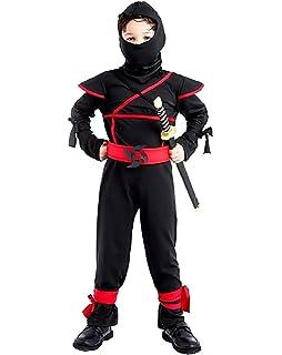 Katara Talla M (6-8 años) Disfraz de Ninja Dragón para Niña ...