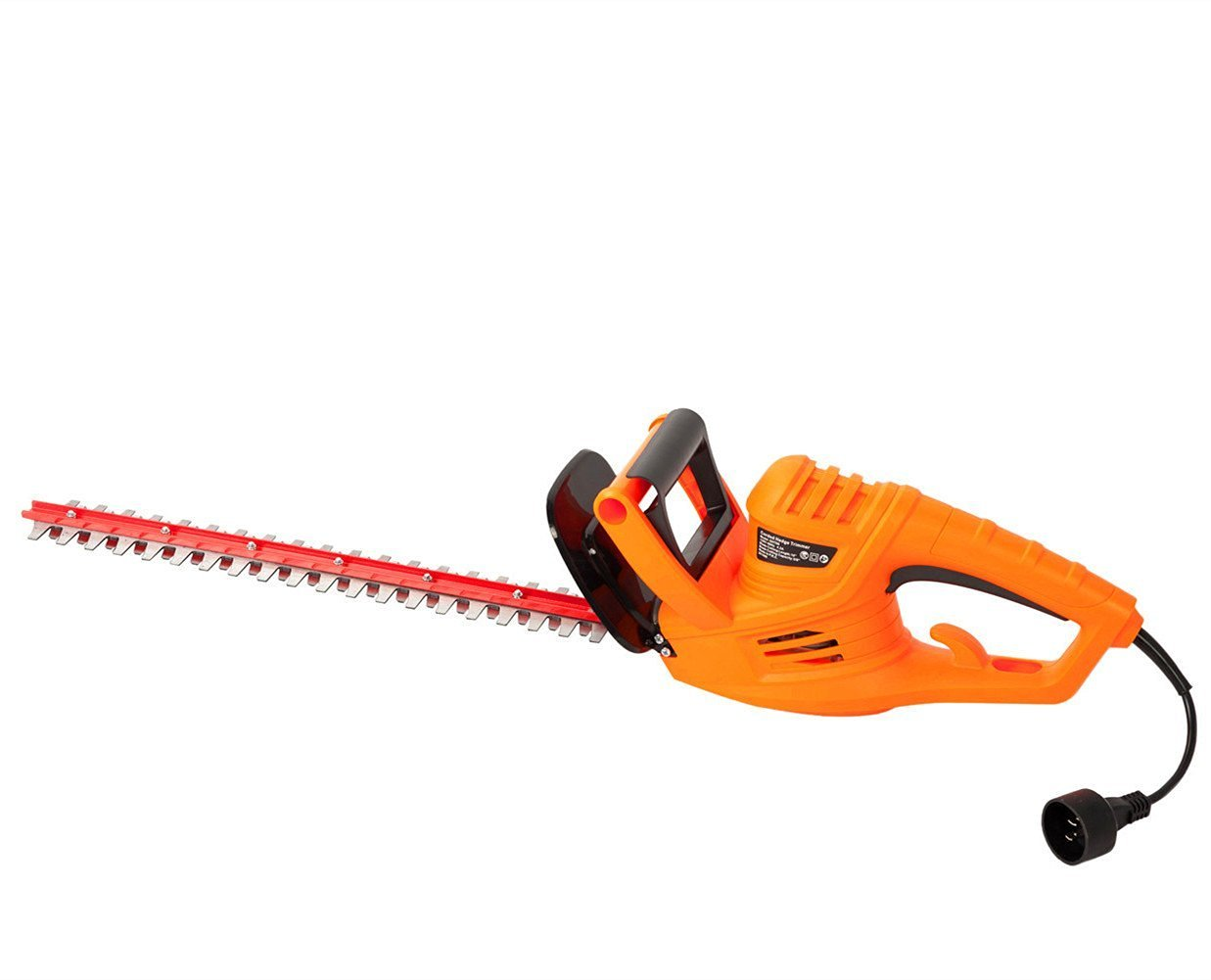 GARCARE 4.2-Amp Corded Hedge Trimmer with 18-Inch Laser Cutting Blade, Blade Cover Included