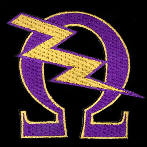 omega psi phi fraternity patches - 3