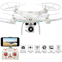 Kanzd Wide Angle Lens HD Camera Quadcopter RC Drone WiFi FPV Live Helicopter Hover