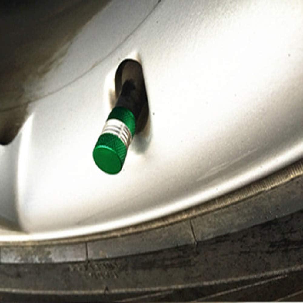 Fliyeong Amerikanischen Rad Ventil Alu Reifenschaft Ventilkappen Airbag staubdicht reifen kappe f/ür Auto Fahrrad 10 St/ücke Motorrad