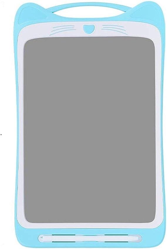 LCDライティングタブレット12インチカラフルなデジタルポータブルボード手書き子供のための大人のホームスクール ペン&タッチ マンガ・イラスト制作用モデル (Color : Blue)