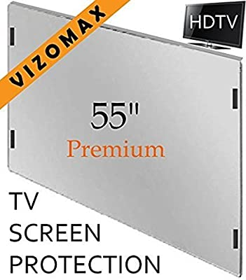 Vizomax TV Screen Protector for LCD, LED & Plasma HDTV