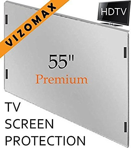 55 inch Vizomax TV Screen Protector for LCD, LED, OLED & QLED 4K HDTV by Vizomax