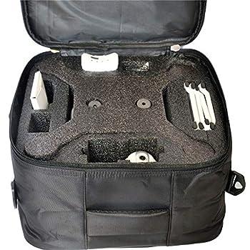 BeesClover Drone Storage Bag Black Quadrotor Protecter for MJX B5W B2W B3H x16 s70w hs100 hs700