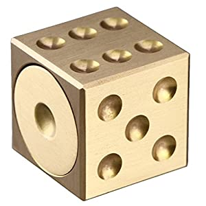 Wangyue New Gold Dice Hand Spinners Style Fidgets Spinner Fidget Toy Relieve Stress High Speed Focus Toy for Children and Adults