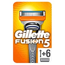 Gillette Fusion5 - Maquinilla de Afeitar con 6 Recambios