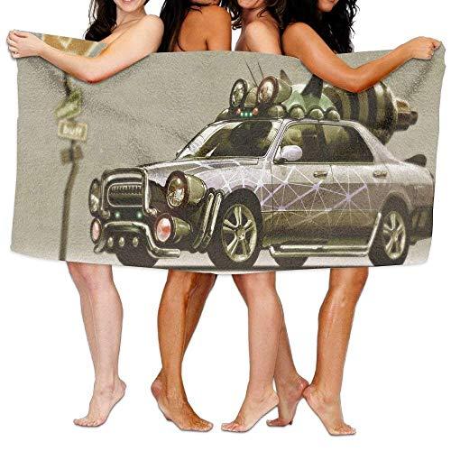 Spa Bath Towel Wrap,Beach Towel I Love This Car 31