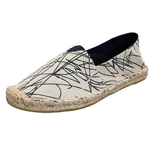 Women Lvguang Scarpe Espadrillas Stile12 Tela Uomo Shoes di per Casual Scarpe Viaggio Basse da Unisex Le dFTFxr7