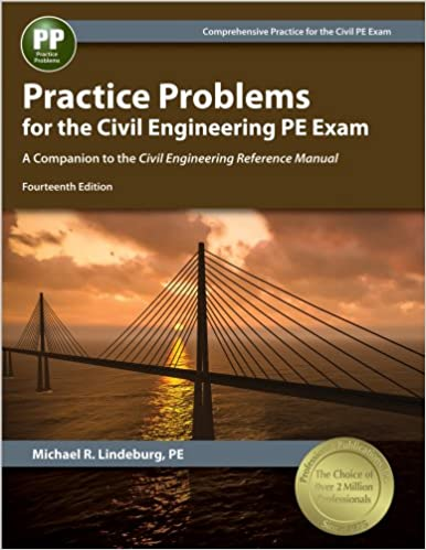 Practice problems for the civil engineering pe exam a companion to practice problems for the civil engineering pe exam a companion to the civil engineering reference manual 14th ed fourteenth edition fandeluxe Image collections