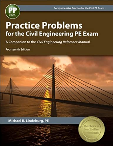 practice problems for the civil engineering pe exam a companion to rh amazon com Cerm 13th Edition Index Exam Questions