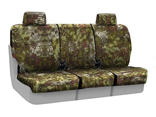Coverking Front 40/20/40 Custom Fit Seat Cover for Select Lincoln Town Car Models - Ballistic (Kryptek Mandrake Camo) ()