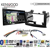 Volunteer Audio Kenwood Excelon DNX694S Double Din Radio Install Kit with GPS Navigation System Android Auto Apple CarPlay Fits 2008-2010 Nissan Rogue