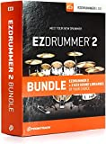 Toontrack EZdrummer 2 Bundle with 2 EZX Libraries