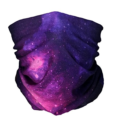 Sun Club (Loblolly Galaxy Seamless Face Mask Multifunctional Bandanas For Outdoors, Music Festivals, Clubs, raves, Cycling, Riding, Sun Protection, Moisture Wicking, Dust)