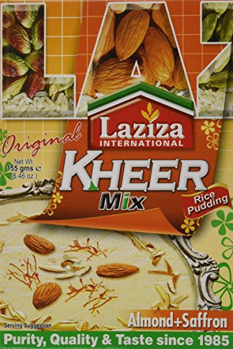 - Laziza Kheer Mix Almond+saffron (rice Pudding), 155-Gram Boxes (Pack of 6)