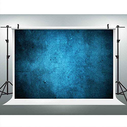 Blue Abstract Old Master Backdrops for Photography 9x6FT Retro Texture Blue Background for Photographers Portraits Photography Backdrops Model Head Image LULF145 -