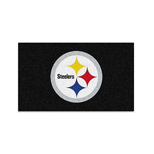 (FANMATS 7427 Pittsburgh Steelers Rookie Mat (18