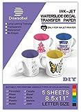 Water Slide Decal Paper for Inkjet Printer, Premium
