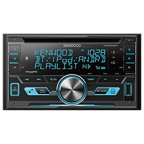 Kenwood DPX502BT Double-Din CD Receiver with USB Interface & Bluetooth