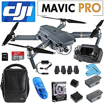 DJI Mavic Pro Fly More Combo Collapisble Quadcopter with Remote