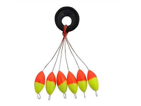ADream Gimnasia de Ejercicio Color Fluorescente Flotante Mar Roca Pesca Cola Flotadores Flotador de Pesca para