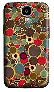 Samsung S4 Case Bubbles 3D Custom Samsung S4 Case Cover