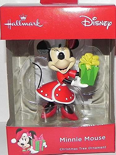 Disney Minnie Mouse Gift Exchange Christmas Tree Ornament Mfg by Hallmark