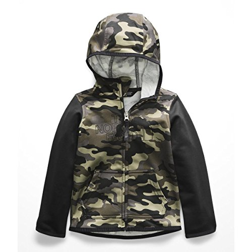 The North Face Toddler Surgent Full-Zip Hoodie - New Taupe Green Camouflage Print - 2T (Camo Taupe New)
