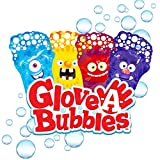 Glove-A-Bubbles Zing 4 Packs with Tray ,Set