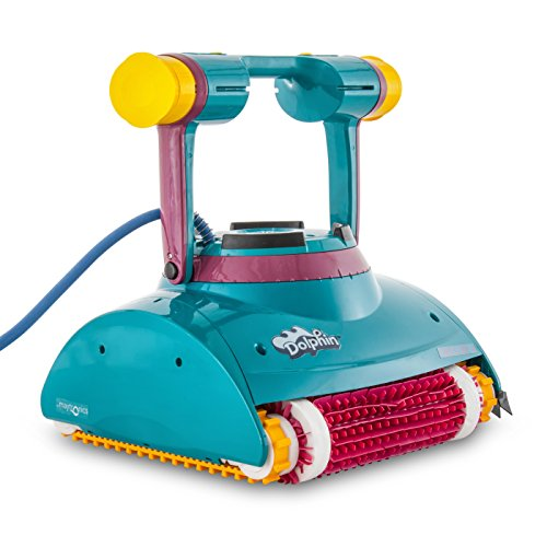 - Dolphin Deluxe 4 Robotic Pool Cleaner