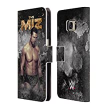 Official WWE LED Image The Miz Leather Book Wallet Case Cover For Samsung Galaxy Note 4