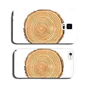 Tree rings annual rings cell phone cover case Samsung S6