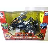 Black with Orange Trim Street Savage Remote-controlled Stunt Car (2014)