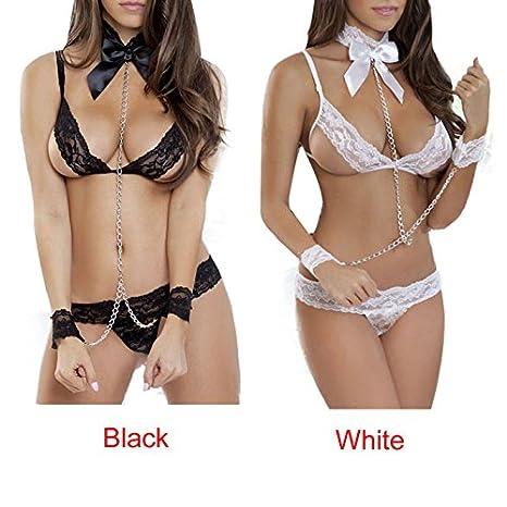 9e41e75596994 Amazon.com  ZYooh Hot Sexy Babydoll Sleepwear