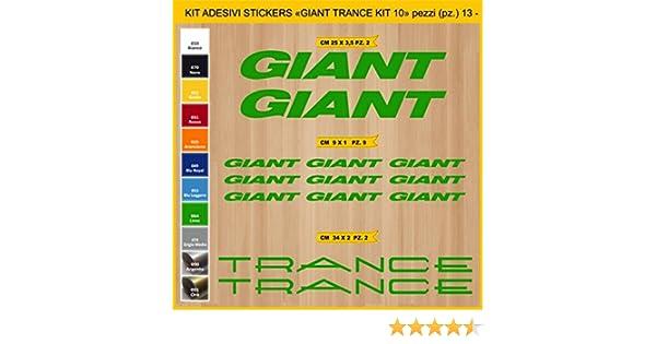 Kit Pegatinas Stickers Bicicleta Giant Trance - Kit 10-13 Piezas ...