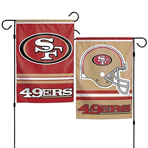 WinCraft NFL San Francisco 49ers WCR08384013 Garden Flag, 11