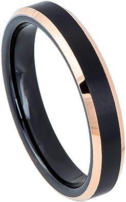 Tungsten Wedding Ring Tungsten Ring Rose Gold Silver 7MM Wedding Band Men Tungsten Ring Women Tungsten Ring Custom Free Laser Engraving New