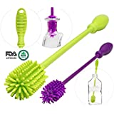 Baby Bottle Brush Cleaning Set, 7 in 1 Cleaning...