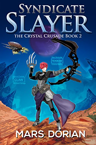 Syndicate Slayer: The Crystal Crusade Book - Compass Tech Adventure Watch